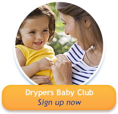 Drypers baby Club - Sign up now