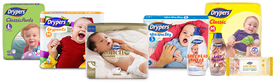 Specially created for your baby's gentle skin