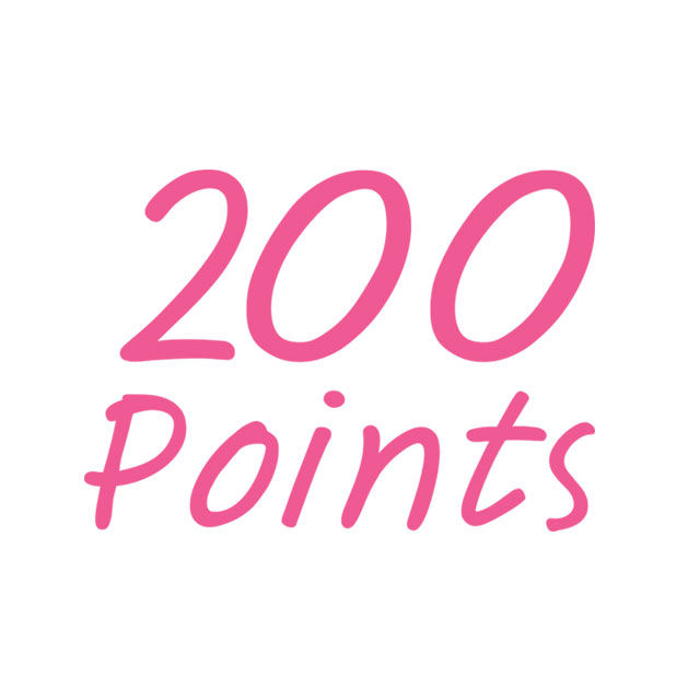 Participants and nominees will get 200 BONUS Drypers Points